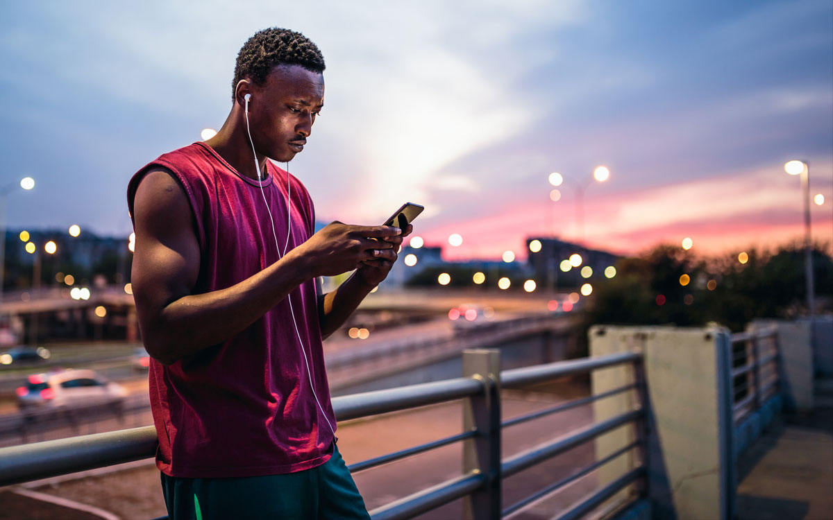 guy on iphone 1