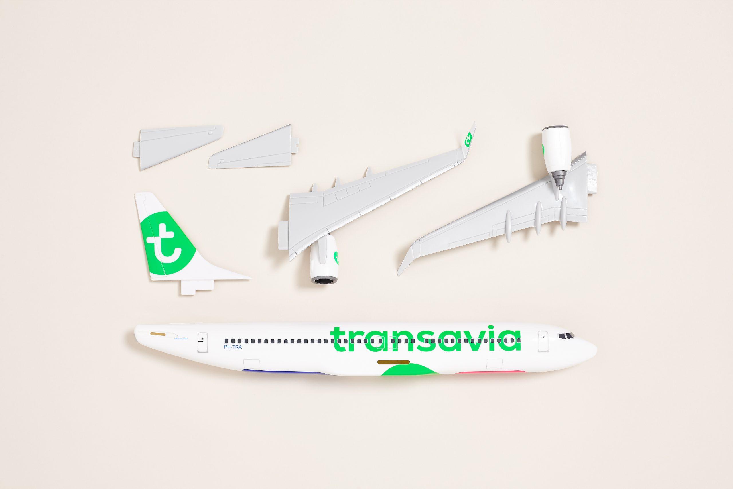 RGB 21 Transavia Airplane Model 3 scaled