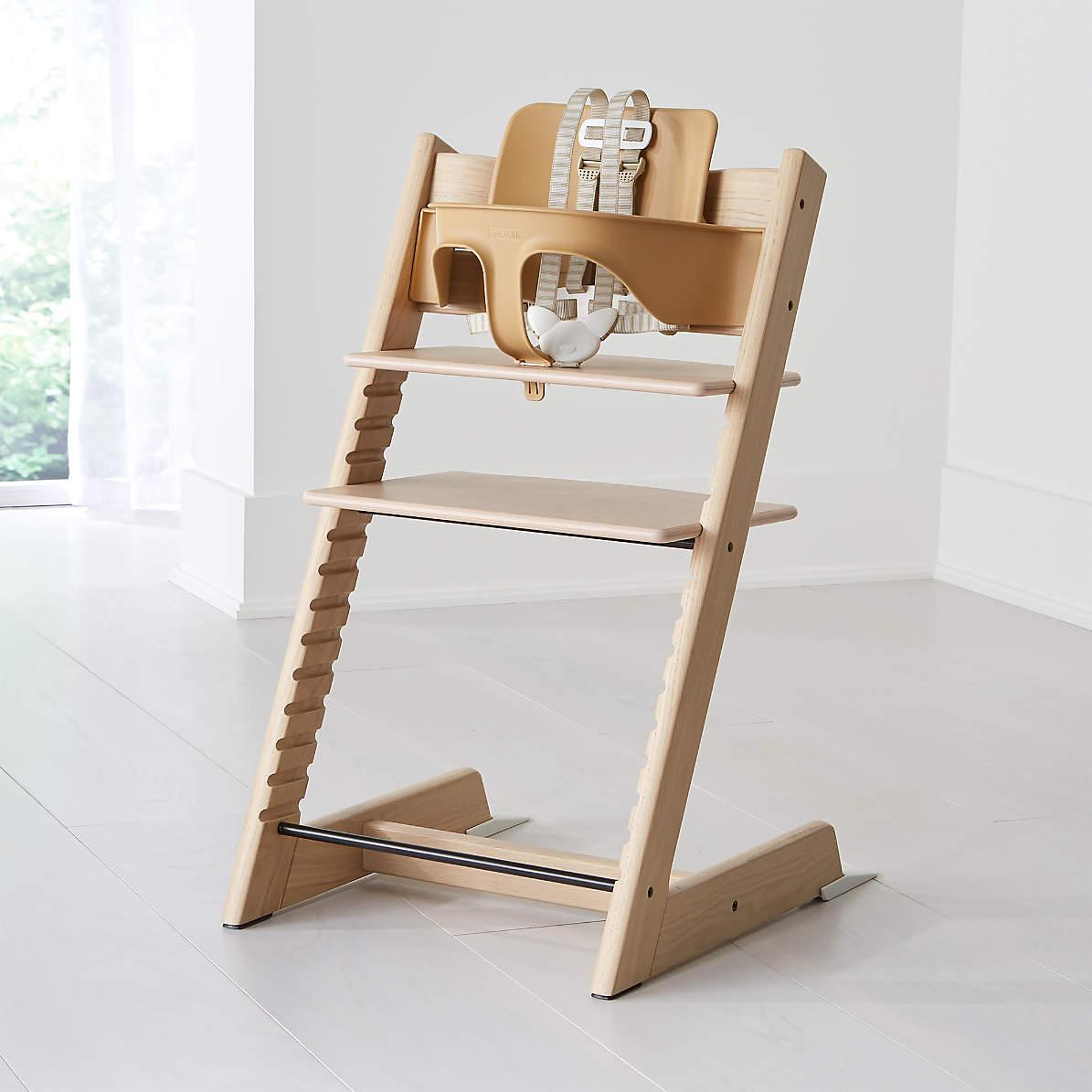 tripp trapp by stokke high chair oak white