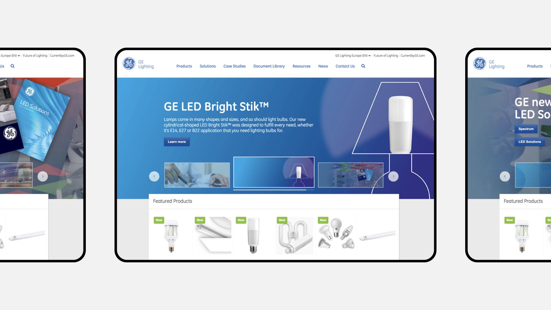 GE Lighting Desktop